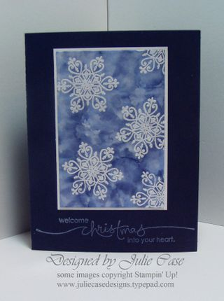 Magic Snowflake card